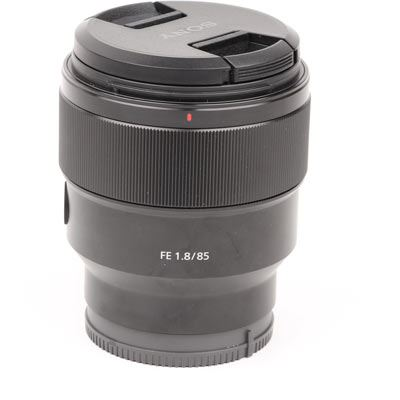 Used Sony FE 85mm f1.8 Prime Lens