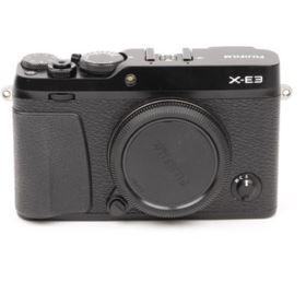 Used Fujifilm X-E3 Digital Camera Body - Black