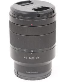 Used Sony FE 24-70mm f4 ZA OSS Vario-Tessar Carl Zeiss T* Lens