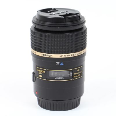 Used Tamron 90mm f2.8 SP Di Macro Lens - Canon Fit