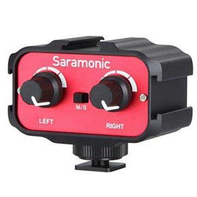 Image of Saramonic 2-Ch Audio Mixer 3.5mm