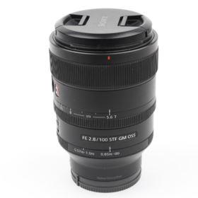 Used Sony FE 100mm f2.8 G Master Lens