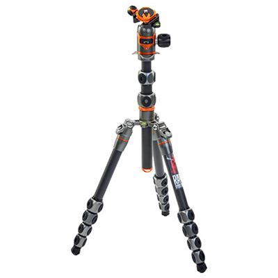 Image of 3 Legged Thing Legends Ray Carbon Fibre Tripod - Grey