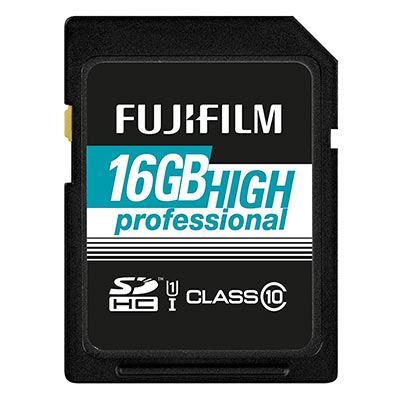 Image of Fujifilm 16GB (90MB/Sec) C10 UHS-I SDHC Memory Card