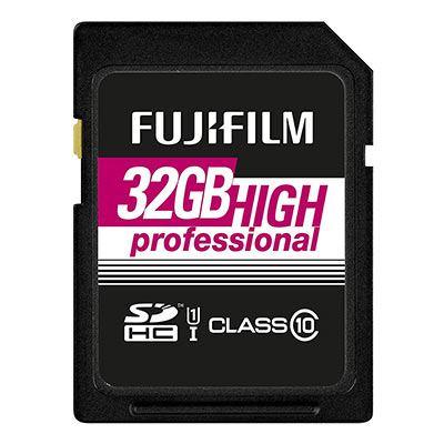 Image of Fujifilm 32GB (90MB/Sec) C10 UHS-I SDHC Memory Card