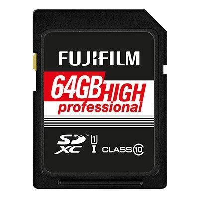 Image of Fujifilm 64GB (90MB/Sec) C10 UHS-I SDXC Memory Card