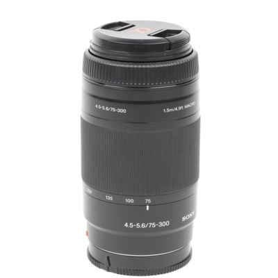 Used Sony 75-300mm f4.5-5.6 DT Lens