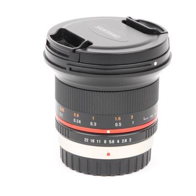 Used Samyang 12mm f2.0 NCS CS Lens Black - Micro Four Thirds Fit