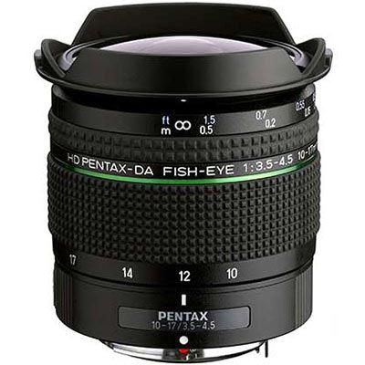 Image of Pentax 10-17mm f3.5-4.5 HD DA ED Fisheye Lens