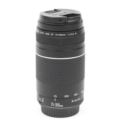Used Canon EF 75-300mm f4-5.6 III Lens
