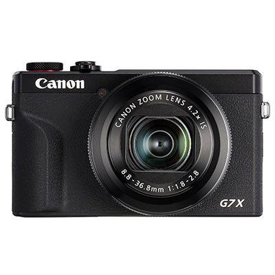 Image of Canon PowerShot G7 X Mark III Digital Camera - Black