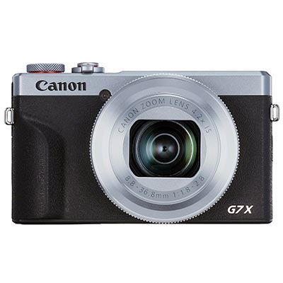 Image of Canon PowerShot G7 X Mark III Digital Camera Battery Kit - Silver
