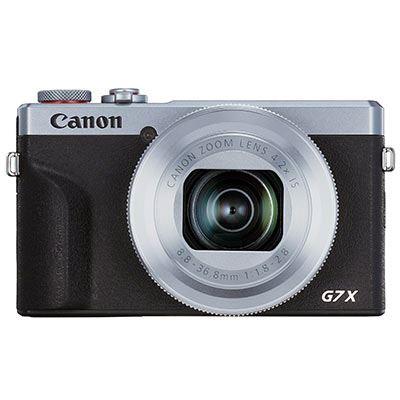 Canon PowerShot G7 X Mark III Digital Camera Battery Kit - Silver