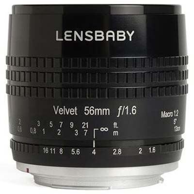 Image of Lensbaby Velvet 56mm f1.6 Lens - Canon RF Fit