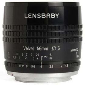 Lensbaby Velvet 56mm f1.6 Lens - Canon RF Fit