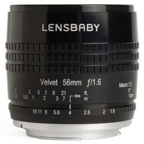 Lensbaby Velvet 56mm f1.6 Lens - Nikon Z Fit