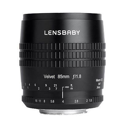 Image of Lensbaby Velvet 85mm f1.8 Lens - Canon RF Fit