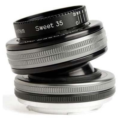 Used Lensbaby Composer Pro II with Sweet 35 Optic - Canon RF Fit