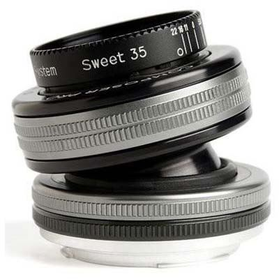 Image of Lensbaby Composer Pro II with Sweet 35 Optic - Nikon Z Fit