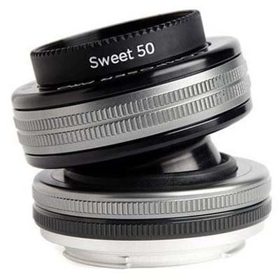 Image of Lensbaby Composer Pro II with Sweet 50 Optic - Canon RF Fit