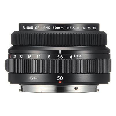 Fujifilm GF 50mm f3.5 R LM WR Lens