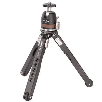 Leofoto Pocket Mini Tripod MT-03 + MBH-19 Ball Head