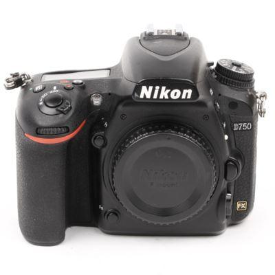 Used Nikon D750 Digital SLR Camera Body