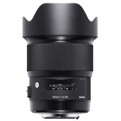 Sigma 20mm f1.4 DG HSM Art Lens - L-Mount