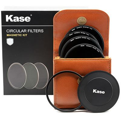 Kase Wolverine Magnetic Circular Filters 77mm Professional Kit