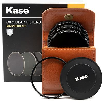 Kase Wolverine Magnetic Circular Filters 82mm Entry Kit