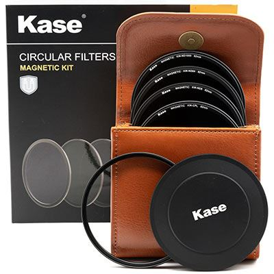 Kase Wolverine Magnetic Circular Filters 82mm Professional Kit