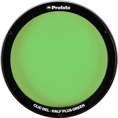 Profoto Clic Gel - Half Plus Green