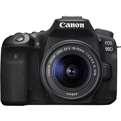 Image of Canon EOS 90D Digital SLR Camera with 18-55mm IS STM Lens