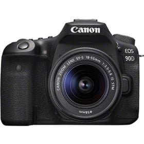 Canon EOS 90D DSLR with 18-55mm