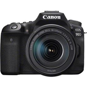 Canon EOS 90D Digital SLR Camera with 18-135mm IS USM