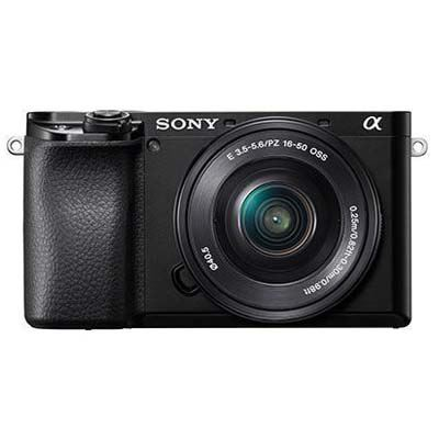 Sony A6100 Digital Camera with 16-50mm Power Zoom Lens - Black