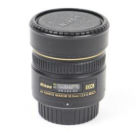 Used Nikon 10.5mm f2.8 G IF-ED AF DX Fisheye Lens