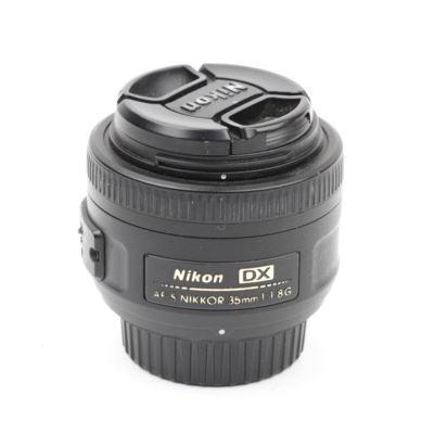 Used Nikon 35mm f1.8 G AF-S DX Lens
