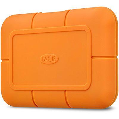 Image of LaCie 500GB Rugged USB-C SSD