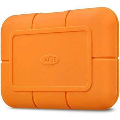 Image of LaCie 1TB Rugged USB-C SSD