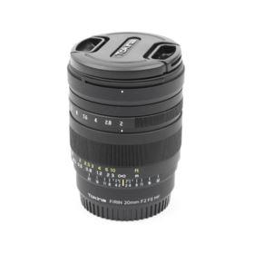 Used Tokina Firin 20mm f2 MF Lens - Sony E-Mount