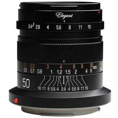 Click to view product details and reviews for Kipon 50mm F24 Lens Canon Rf.