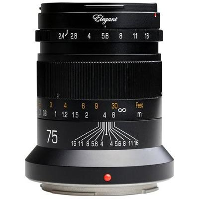 Click to view product details and reviews for Kipon 75mm F24 Lens Canon Rf.