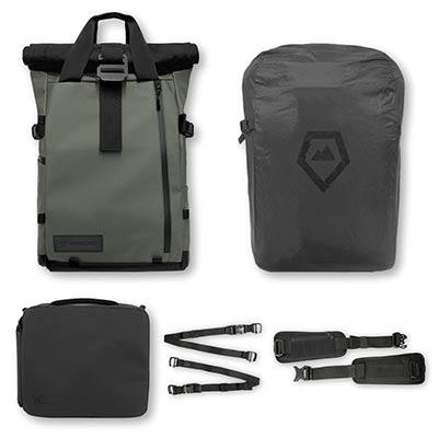 WANDRD PRVKE 21 Backpack Photography Bundle - Wasatch Green