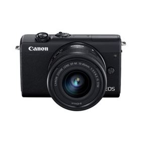 Canon EOS M200 Digital Camera with 15-45mm Lens - Black