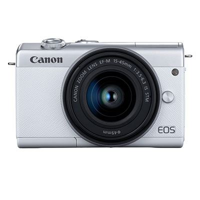 Image of Used Canon EOS M200 Digital Camera with 15-45mm Lens - Silver