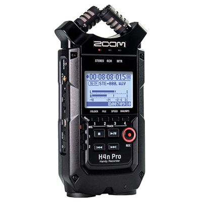 Image of Zoom H4n Pro Digital Audio Recorder - Black