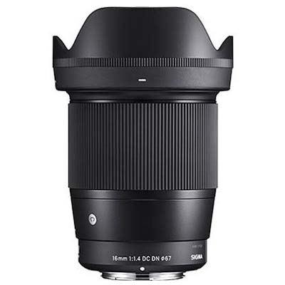 Sigma 16mm f1.4 DC DN- Canon M Fit