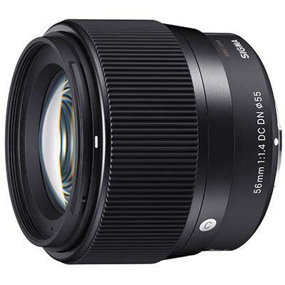 Sigma 56mm f1.4 AF DC DN Contemporary Lens - Canon M Fit
