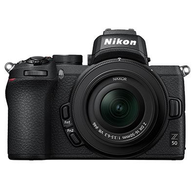 Nikon Z50 Digital Camera with 16-50mm Lens